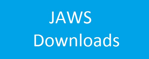 Página de descarga de JAWS